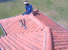 Advanced Lightning Protection - Air termination system on roof